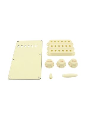ALLPARTS PG-0549-050 Parchment Accessory Kit for Stratocaster®