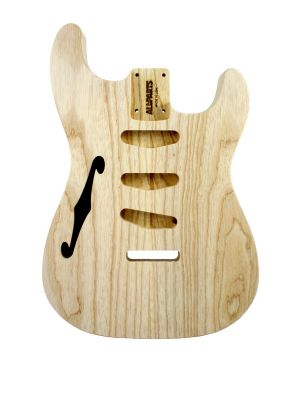 ALLPARTS SBAO-TL Thinline Ash Replacement Body for Stratocaster®