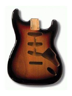 ALLPARTS SBF-3SB Sunburst Finished Replacement Body for Stratocaster®