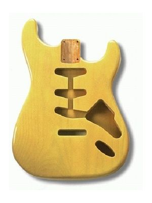 ALLPARTS SBF-BLND Blonde Finished Replacement Body for Stratocaster®