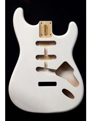 ALLPARTS SBF-WH White Finished Replacement Body for Stratocaster®