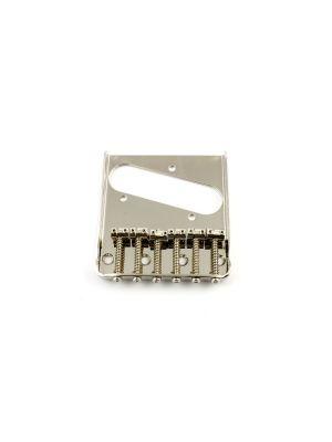 ALLPARTS TB-0033-001 Nickel Vintage 6 Saddle Bridge for Telecaster®