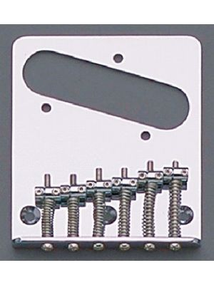ALLPARTS TB-5034-010 Chrome 6 Saddle Import Bridge for Telecaster®