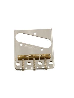 ALLPARTS TB-5129-001 Wilkinson® Staggered Saddle Bridge for Telecaster®
