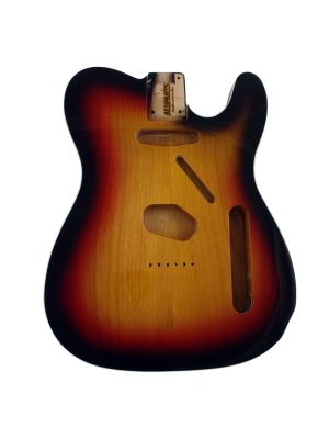 ALLPARTS TBF-3SBB Sunburst Finished Replacement Body for Telecaster® With Binding