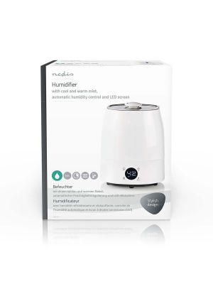 NEDIS Luftfukter 5,5 l, Hygrometer,  LED-Skjerm, Timer
