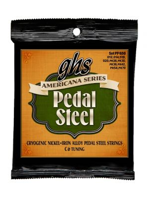 GHS PF650 AMERICANA PEDAL STEEL. C6 TUNING. 012-PR70. Strengesett til pedal steel