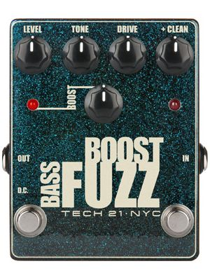 Tech21 Metallic Series Bass Boost Fuzz (BSTM-BF)