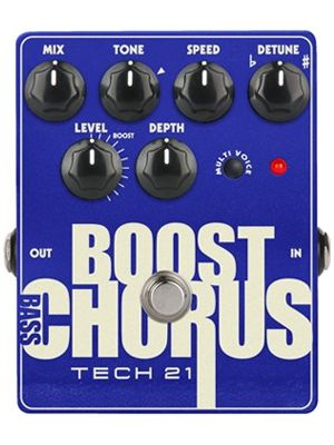 Tech21 Metallic Series Bass Chorus (BSTM-BC)