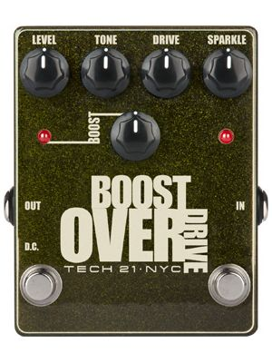 Tech21 Metallic Series Boost Overdrive (BSTM-O)