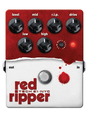 Tech21 Red Ripper, Bass Fuzz Distortion (RIP)